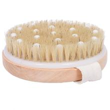 Ny Ankomst Bad Dusj Bristle Pensler med Band Tre Dusj Body Bath Brush Massasje Body Brush SY17D5