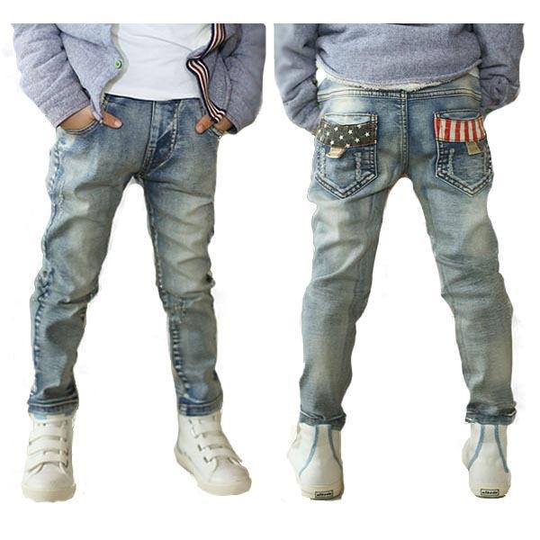 MANJI Poiste teksapüksid 5