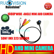 AHD MINI 1080P/2MP 4 IN 1 SONY IMX 323 sensor wide-angle  cctv  camera for Home Security Surveillance video camera free shipping free shipping new mini ahd sony sensor imx225 960p 1 3mp mini ahd bullet cctv camera for home security surveillance video cam