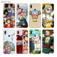 Uyellow One Piece Straw Hat Pirat Case For Redmi S2 Note 4 5 6 7 7S 4X 5 5A 5P 6 6A 7A Y3 For Xiaomi F1 8 lite 9 SE 5X 6X Cover advesta pirat