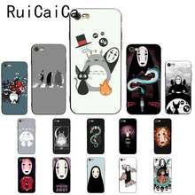 Ruicaica Cute Totoro Spirited Away Ghibli Miyazaki Anime Protector Phone Case for iPhone8 7 6 6S 6Plus X XS MAX 5 5S SE XR Cover(China)