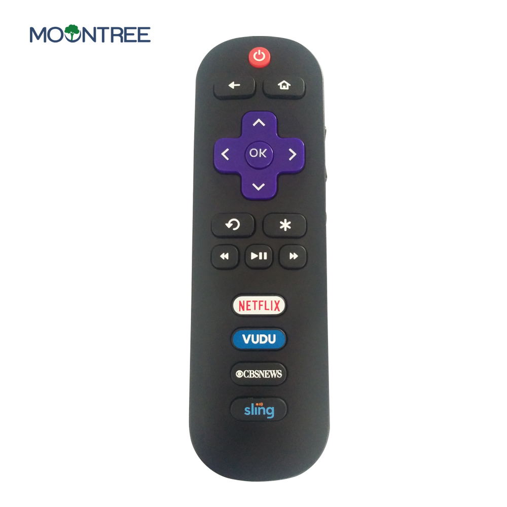 Universal TV Remote Control Replacement for TCL ROKU TV RC280 55S405 40S3800 with Shortcut Netflix Vudu CBS Sling Button ...