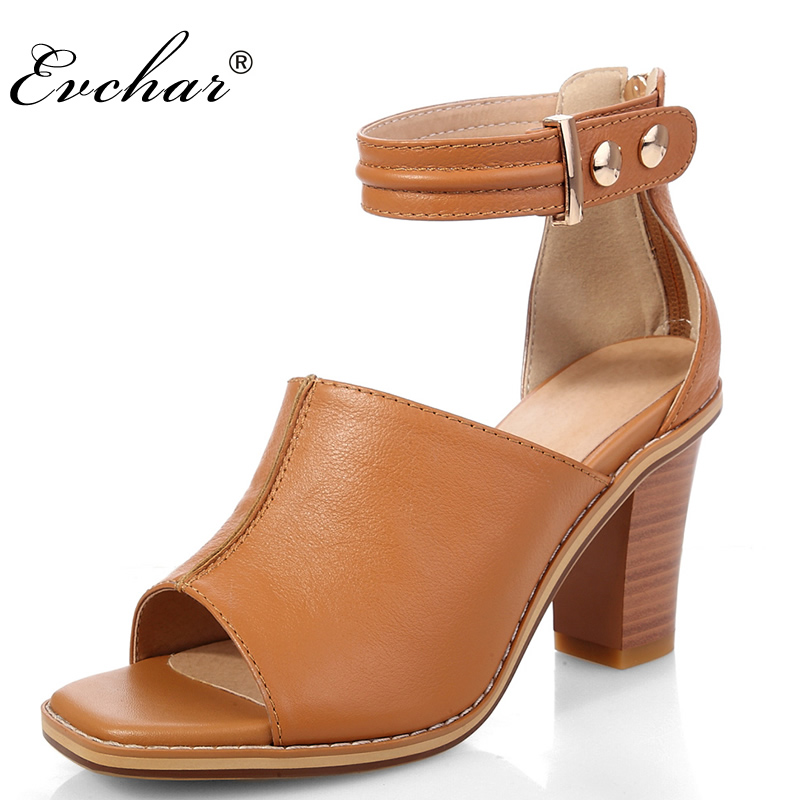 Women sandals new female sandals genuine leather peep toe for Womens fishing shoes