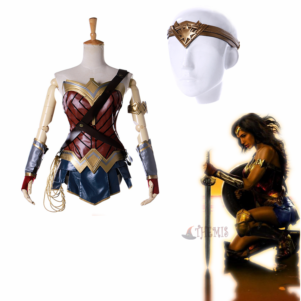Athemis Movie  Cosplay Costumes Wonder Woman cosplay costume custom made size