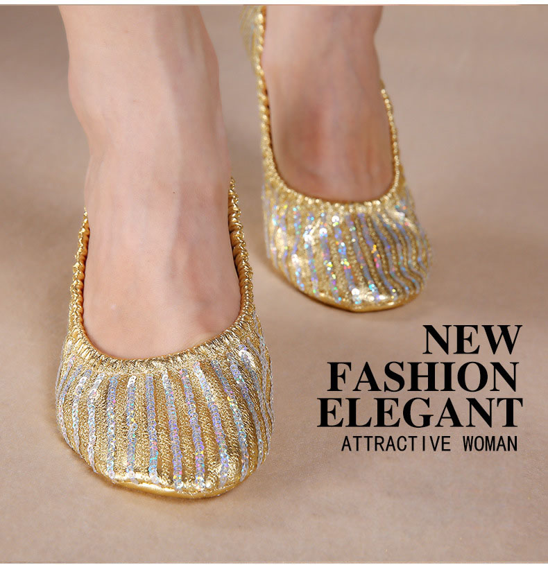 Detail Feedback Questions about Adult Soft Gold Sequin Oriental ... 70f710657227