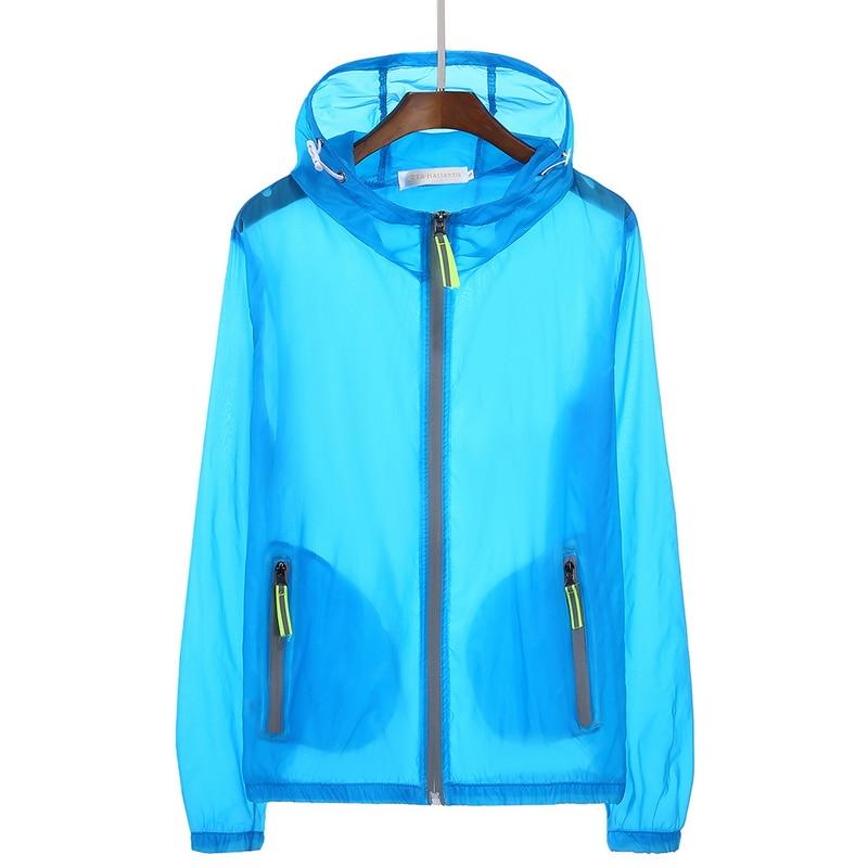 346b4a53a79 2018 Spring Quick Dry Men s Jackets Women Coats Windbreaker Summer Mens  Clothing Sun Protection Ultra Light Reflective Jacket