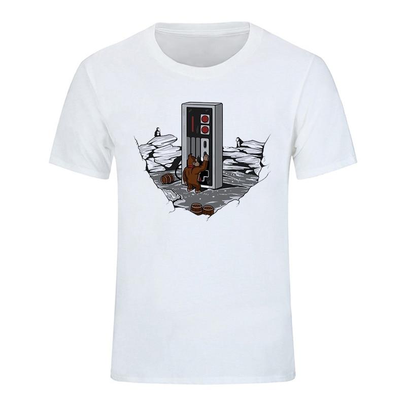 Crewneck Tee Shirts Men Classical Dawn of Gaming T Shirts Men Popular 3d Men plus size m-xxxl free shipping t shirt femme