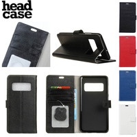 Head Case For Samsung Galaxy Note 8 Fashion Wallet Card PU Leather Wallet Stand Flip Case