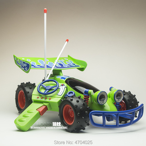 Image 1 - Freies Verschiffen Ursprüngliche Thinkway Spielzeug Geschichte Sammlung Woody RC auto Action figuren spielzeug Puppe Kind giftt