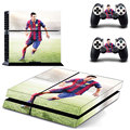Skin Sticker of Lionel Messi PS4 Skin Sticker For Sony Playstation 4 Console protection film and Cover Decals Of 2 Controller