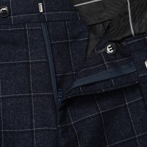 Image 3 - Plus Size 5XL 6XL 7XL 8XL 9XL Mens Suit Pants Classic Style Business Casual Loose Straight Plaid Trousers Male Brand 7Color