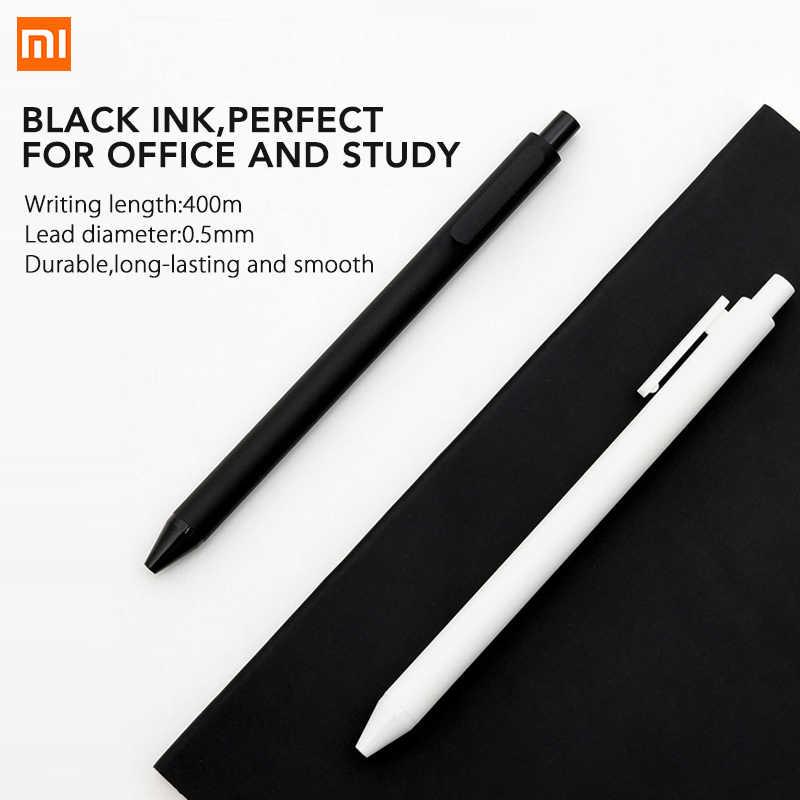 Xiao mi هدية القلم KACO 0.5 مللي متر شياو mi mi توقيع القلم حبر جل الكتابة السلس دائم توقيع الأسود الملء مكتب مدرسة هدية