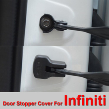 Car Door Stopper Cover for Infiniti Protection Decoration Cover with Anti rust and Anti rain protection cover Free Shipping