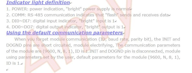 ADM-4188 8 entradas digitais 8 saídas digitais