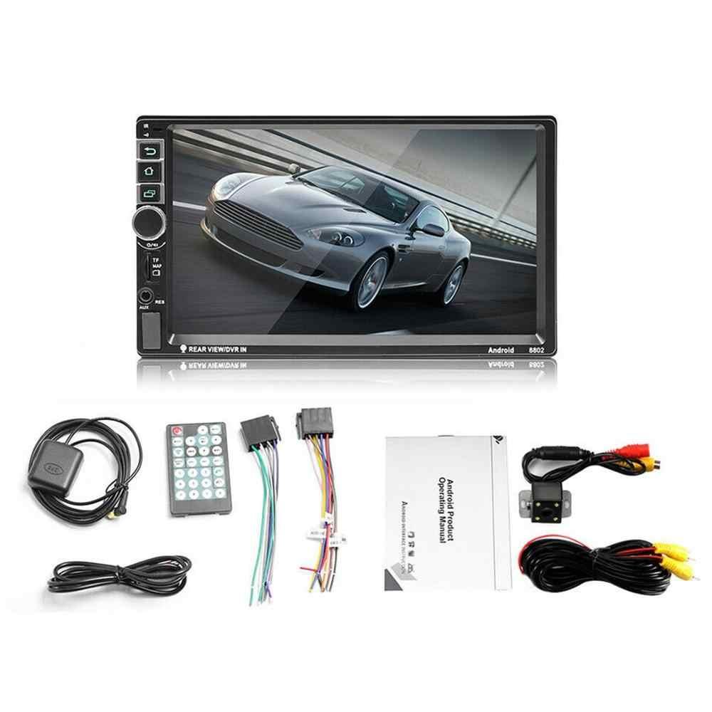 7 дюймов 2 DIN автомобильная навигация Bluetooth навигация Wifi Gps 2 Doppel Din MP3/MP4/MP5 со светлой камерой для Android 8,1