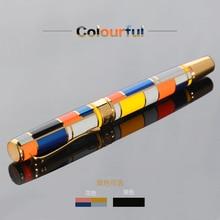 купить QSHOIC Gift Metal Pen Quality Goods The Fashion Business Senior Iridium Fountain Pen Ink Exquisite Gift Box Packaging Bag Mail по цене 2135.63 рублей
