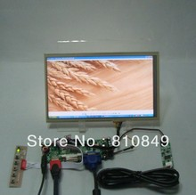HDMI+DVI+VGA Control board+10.1inch LP101WH1 LTN101AT03 1366*768 Lcd+Touch Panel