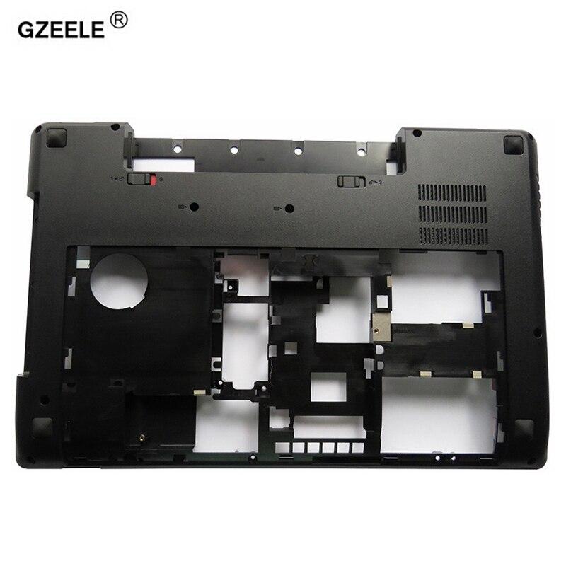 GZEELE Nouvel ordinateur portable couverture de cas de Fond Pour Lenovo Y580 Y585 Y580N Y580A série MainBoard Boîtier En Bas cas Base avec TV trou