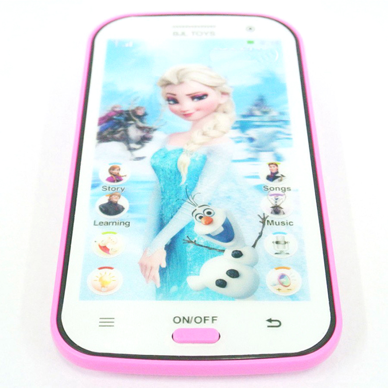 Toy Phone Disney FROZEN Smart Phone Baby Children/'s Educational Learning Kids