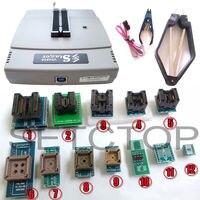אוניברסלי VS4800 GAL EPROM FLASH 51 AVR PIC MCU SPI + SOP8 SOP28 שקע plcc44 32 28 20 + 12 מתאמים tssop28 IC קליפ