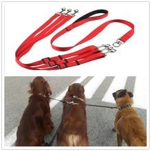 B22 потрійний птахоловний пенал для 1-3 собак Нейлон-собака Потягніть ремінець високоякісної птиці та великих собак