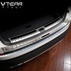 Image 1 - Vtear For Skoda Kodiaq body Accessories cover rear bumper protection car Exterior Chromium Styling interior car styling 2019