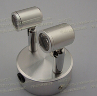 NEW 2PCS Led Spot Light Comes With Rechargeable Market Stall Box Store Jewelry Counter Battery Power