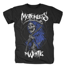 Motionless In White - Reaper Official Mens T Shirt Summer Short Sleeves New Fashion T-Shirt Print Tee Shirts
