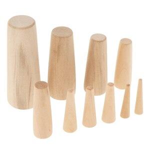 Image 2 - Bouchons de bois 10 pièces/7 tailles