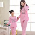 Family christmas pajamas family look girl and mother sleepwear mommy and me pajamas long sleeve shirt+pants family set homewear