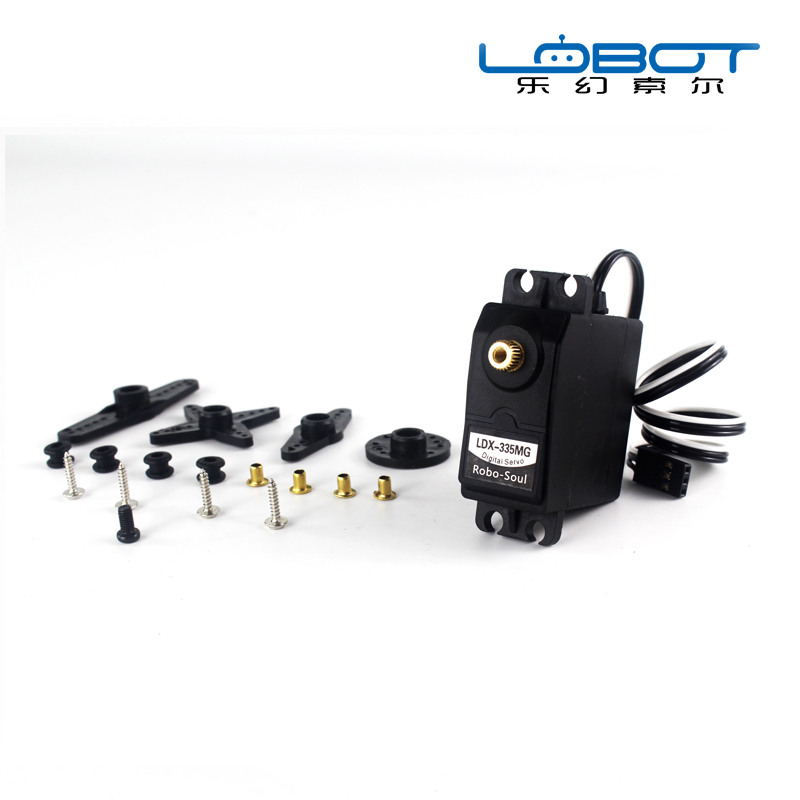 LDX 335MG Digital Metal Servo 180 Degrees/ 19kg Torque for Robbot Mechanical Arm Manipulator Arm