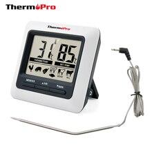 Термопро TP04 большой ЖК-цифровой кухня термометр для пищевых продуктов принадлежности для шашлыков термометр гриль дымогенератор для духовой печи пособия по кулинарии термометр