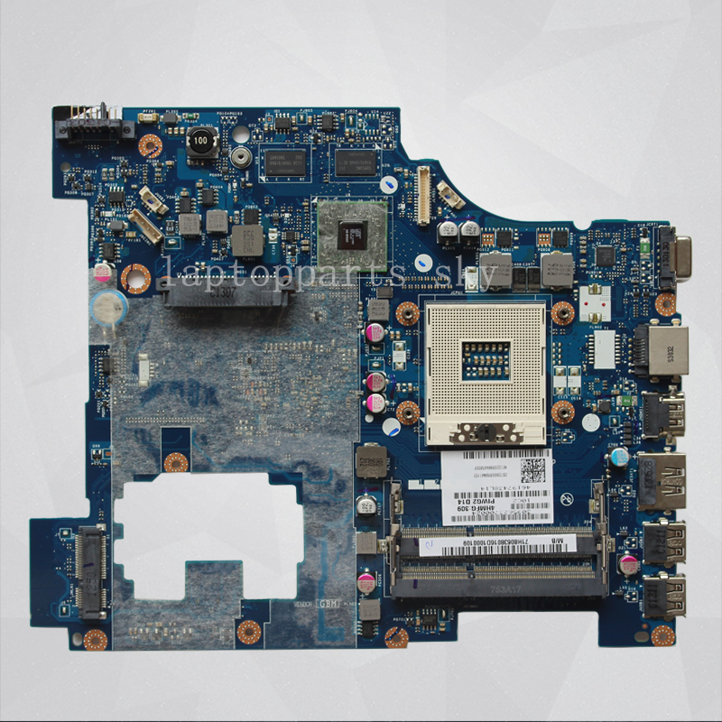 LA-6753P For Lenovo G570 Laptop motherboard intel HM65 DDR3 Socket PGA989 Integrated Graphics Card Mainboard High Quality remo 18 ambassador coated