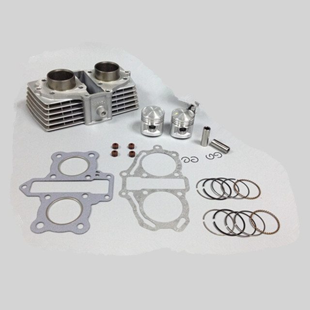 44mm Cylinder & Piston Set & Gasket All Sets For Honda CBT125 125CC CBT 125 Motorcycle Air-Cooled NEW