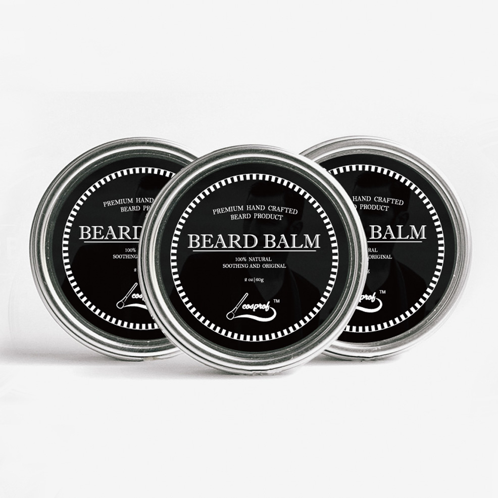 Cosprof 60g bálsamo de barba, bigote el crecimiento del producto crema barba acondicionador de aceite de bálsamo de barba, barba estilo bigote cera beard oil cream beardbalm beard - AliExpress