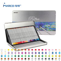 Marco Raffine Feine Kunst 72 Farben Hohe qualität ungiftig Farbe Bleistift lapis de cor Professionelle Farbige Bleistifte Schule liefert auf