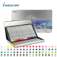 Marco Raffine Fine Art 72 colores de alta calidad lápiz de Color no tóxico lapislázuli de cor lápices de colores profesionales suministros escolares