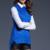 2016 nueva moda otoño invierno de las mujeres outwear el chaleco femenino sin mangas Del O-cuello jumper jersey de punto sólido suéter dulce