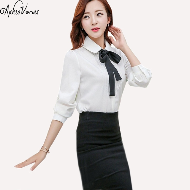 2016 New Fashion Chiffon Shirt Women'S Blouse Tee Shirts Women'S White Lace Blouse Plus Size Women Clothing