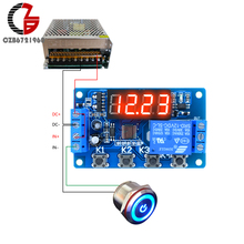 10A 12V Time Relay Adjustable Time Delay Relay Modu