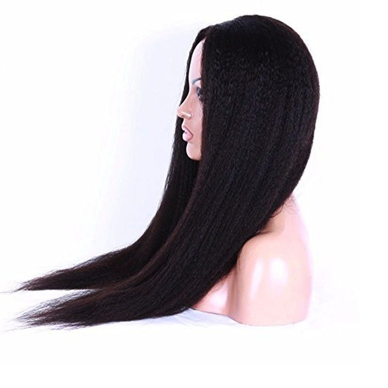 long women kinky curl braid wig