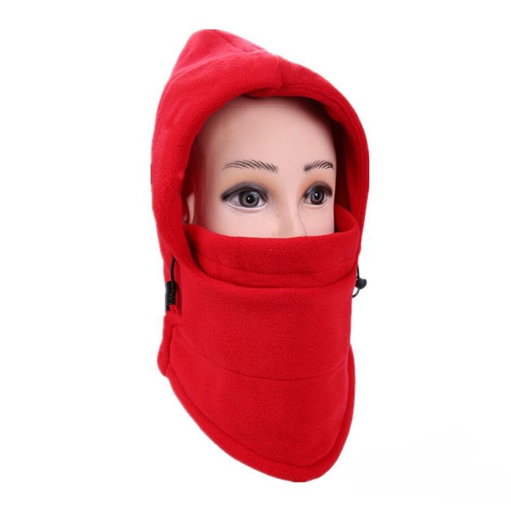 Новинка, 6 в 1, уличные Лыжные маски, велосипедные лыжные шапочки, зимние шапки с защитой от ветра# NE920 - Цвет: C