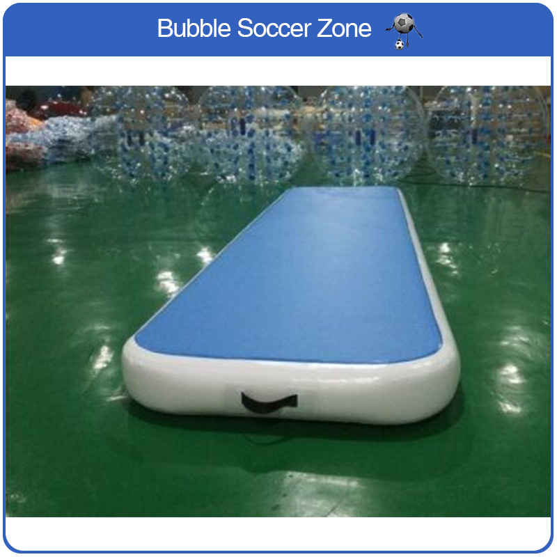 Wholesale Price 4*1m Air Track Gymnastics For Sale Airtrack Mat For Trampoline Mat high quality 4 1 0 2m inflatable air track gymnastics air track trampoline for water games