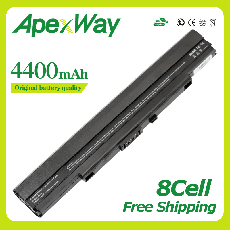 14.8V 4400mAh Laptop Battery For Asus A42-UL30 A42-UL50 UL80 UL80Ag UL80Vt A42-UL80 UL30 UL30A UL50 UL50Vg UL50Vt UL50VS
