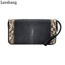 2c96af22fbf3 stingray skin purse с бесплатной доставкой на AliExpress.com