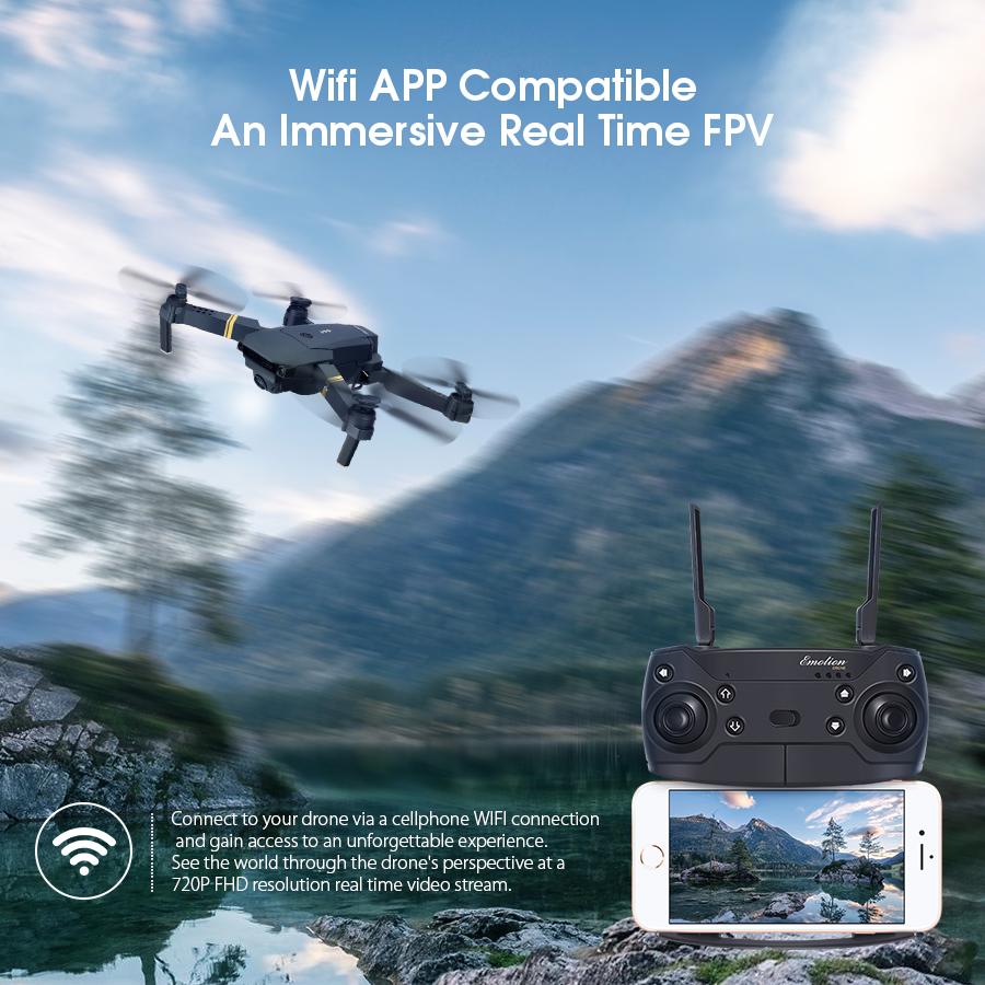 Wifi Compatible Real Time FPV