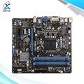 Для MSI B75MA-P45 Оригинальный Используется Для Рабочего Материнская Плата Для Intel B75 Socket LGA 1155 Для i3 i5 i7 DDR3 32 Г SATA3 Micro-ATX