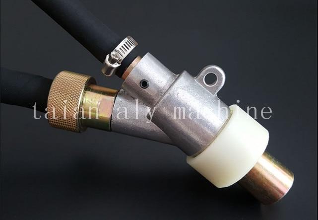 V type sandblasting gun with boron carbide nozzle, sandblaster gun kit with nozzle 35 20 3mm boron carbide sandblasting gun nozzle air sandblaster tip for sandblast cabinet tool