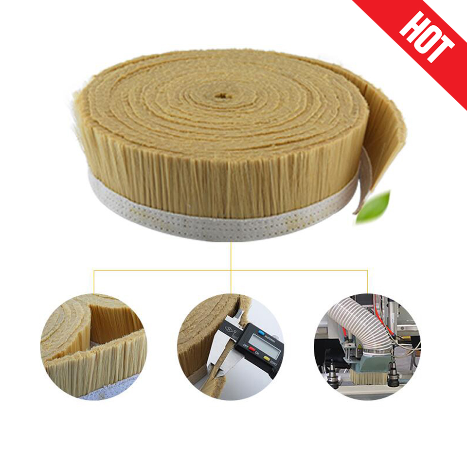 цена на Brand New! 1M x 70mm/100mm Brush Vacuum Cleaner Engraving Machine Dust Cover For CNC Router For Spindle Motor Milling Machine