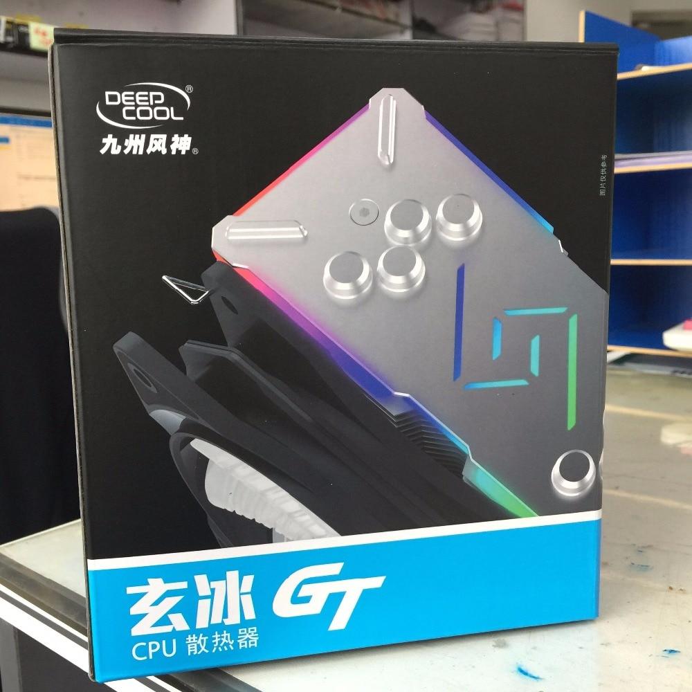 Deepcool GAMMAXX GT Refroidisseurs CPU processeur Supporte intégrer Intel et AMD 775 115X1366 2011 AM2 AM3 AM4 chaleur ventilateur dissipateur